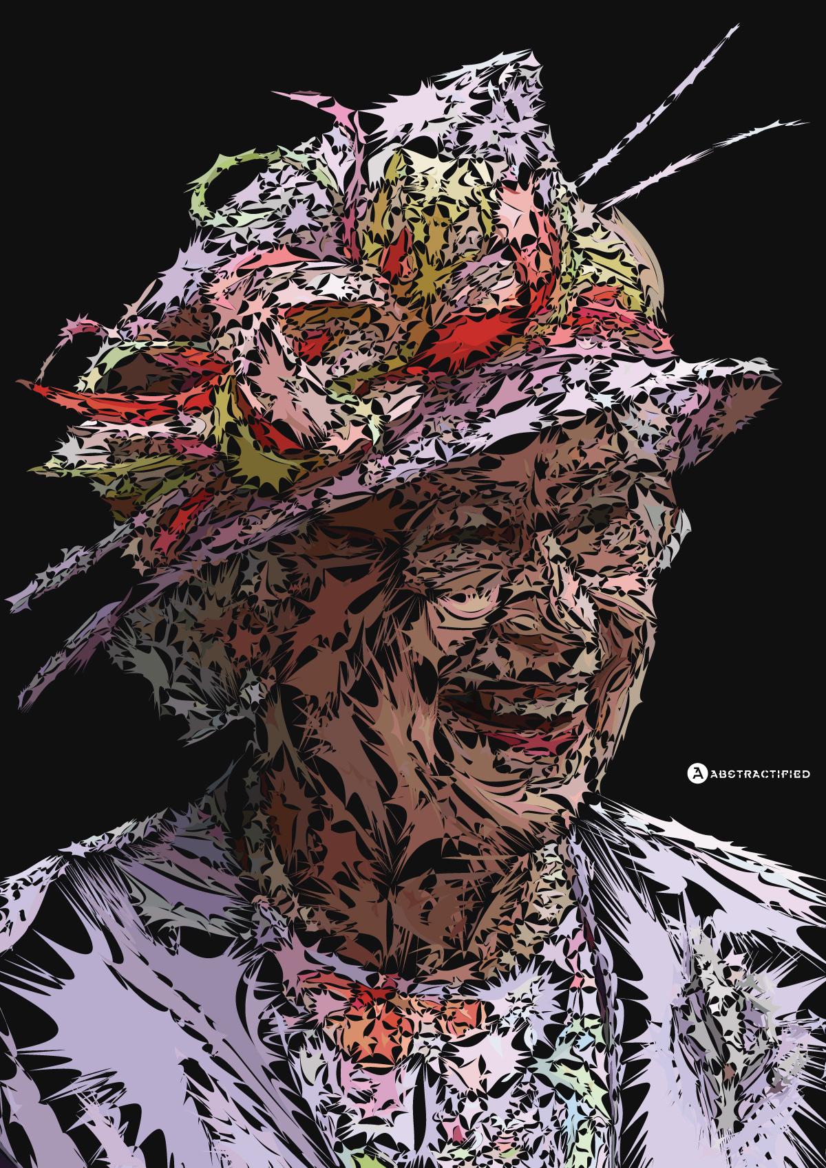 Abstractified Queen