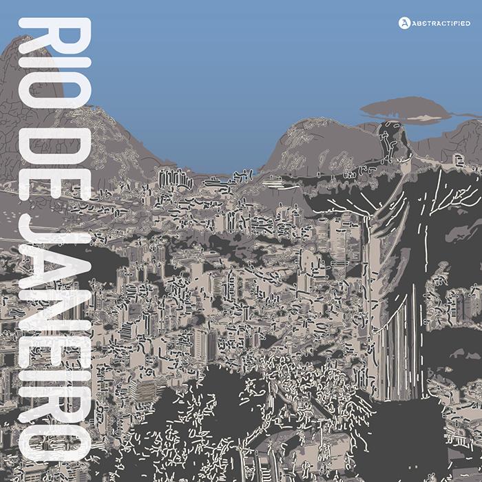 Abstractified Rio de Janeiro