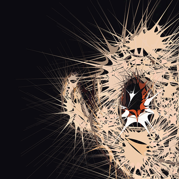 Abstractified Astro Boy