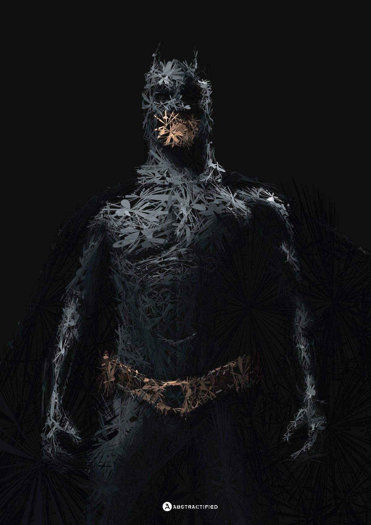 Abstractified Batman