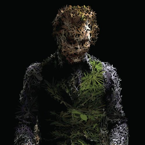 Abstractified Heath Ledger