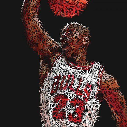Abstractified Michael Jordan