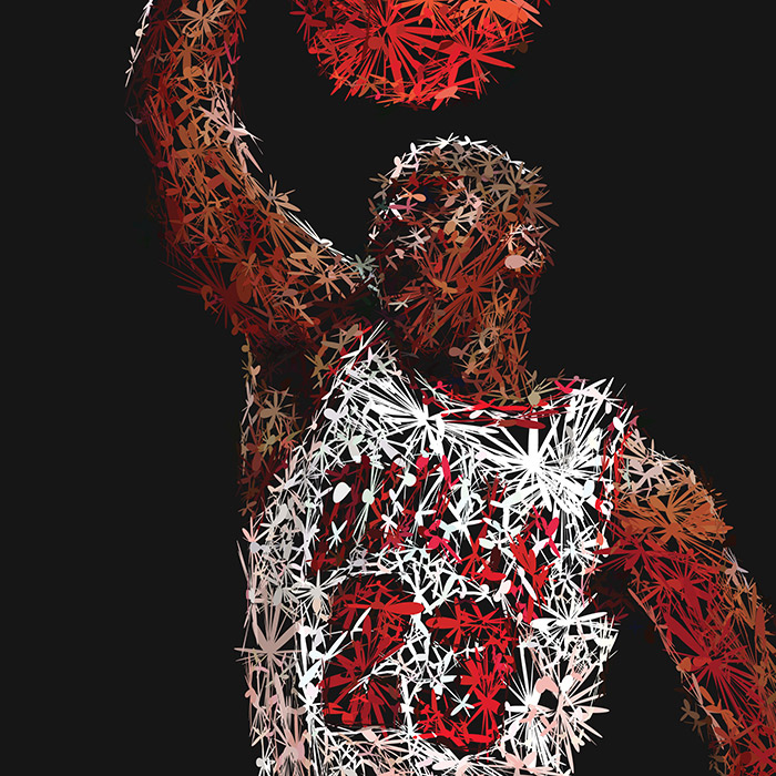 Abstractified Michael Jordan