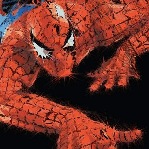 Abstractified Spiderman