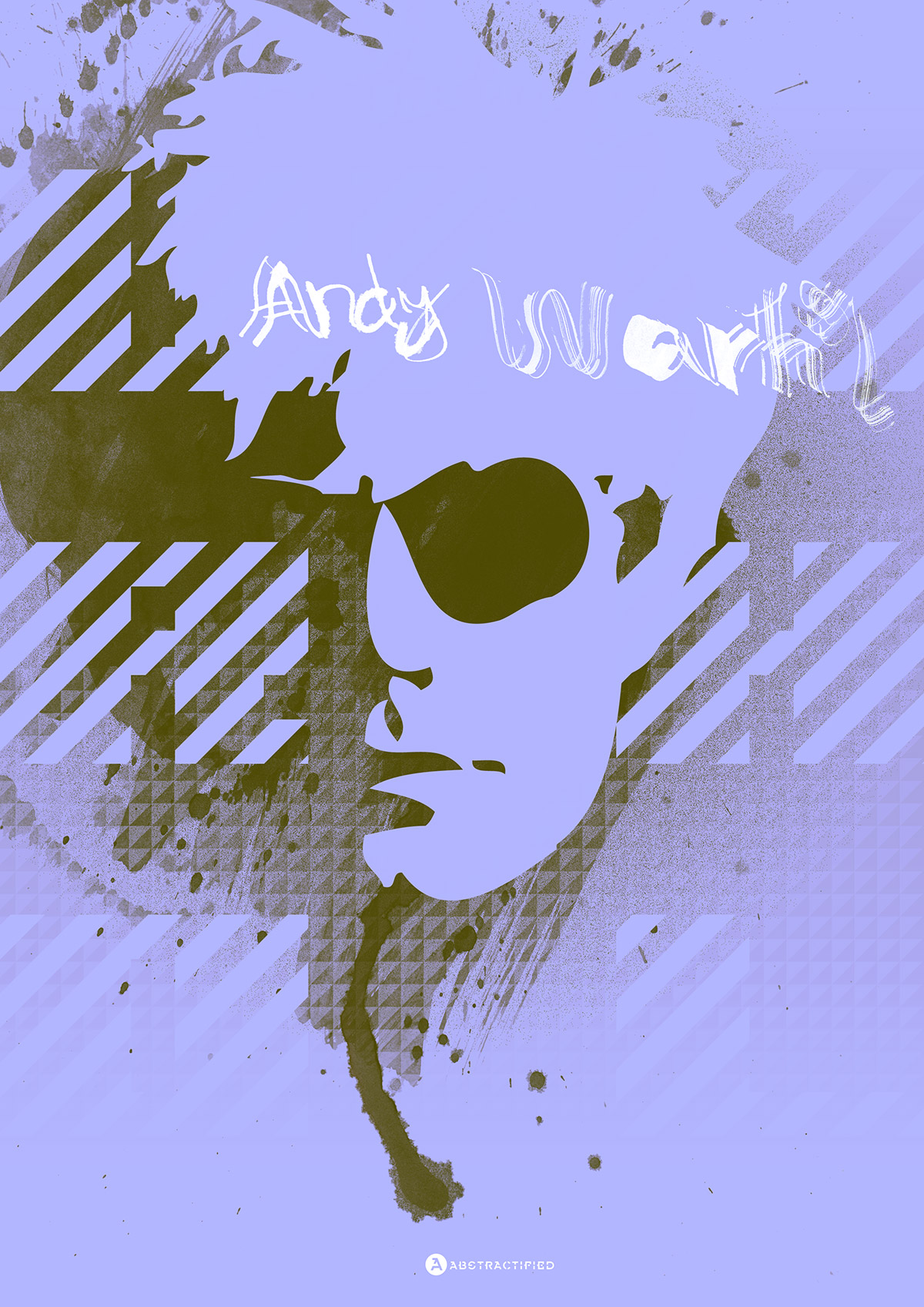 Abstractified Andy Warhol