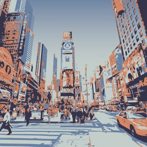 Abstractified New York