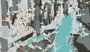 Abstractified Venice