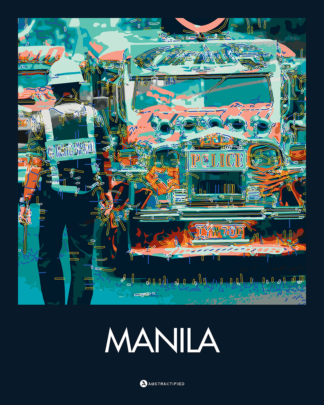 Abstractified Manila